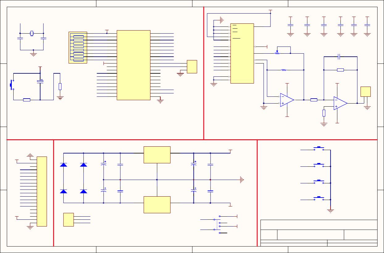 简易数控电源原理图