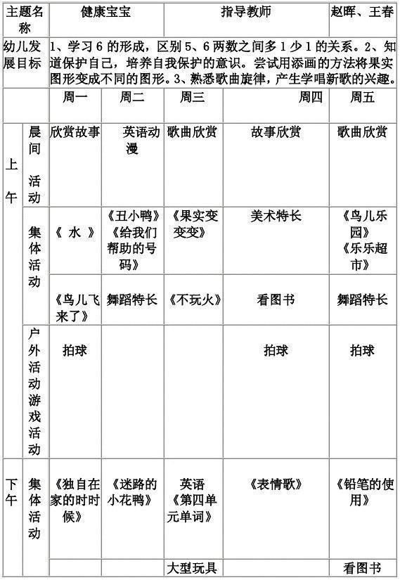 幼儿园周计划样板_幼儿园教案中班十一月工作计划_word文档在线阅读与下载_文档网