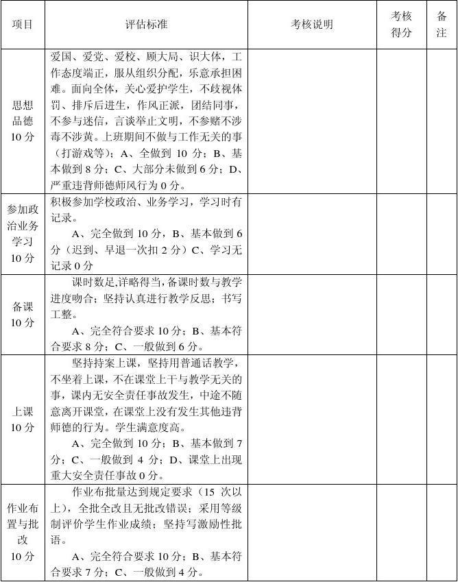 文档数学教研组小学过程性量化v文档_word教师庄松小学图片