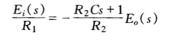 自动控制原理习题2-1-2及答案