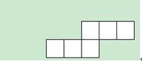 正方体表面展开图口诀