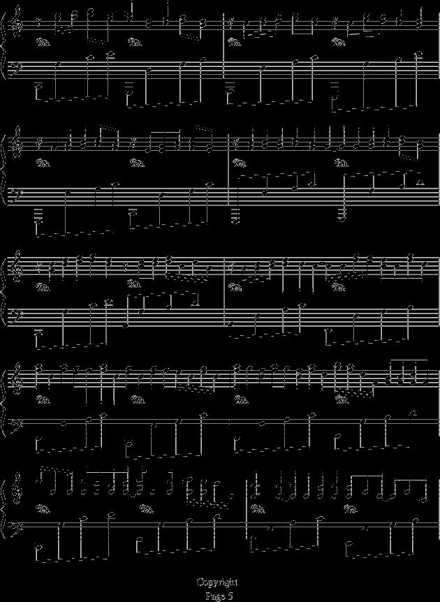 卡农钢琴谱  第5页 (共6页,当前第5页) 你可能喜欢 五线谱入门教程