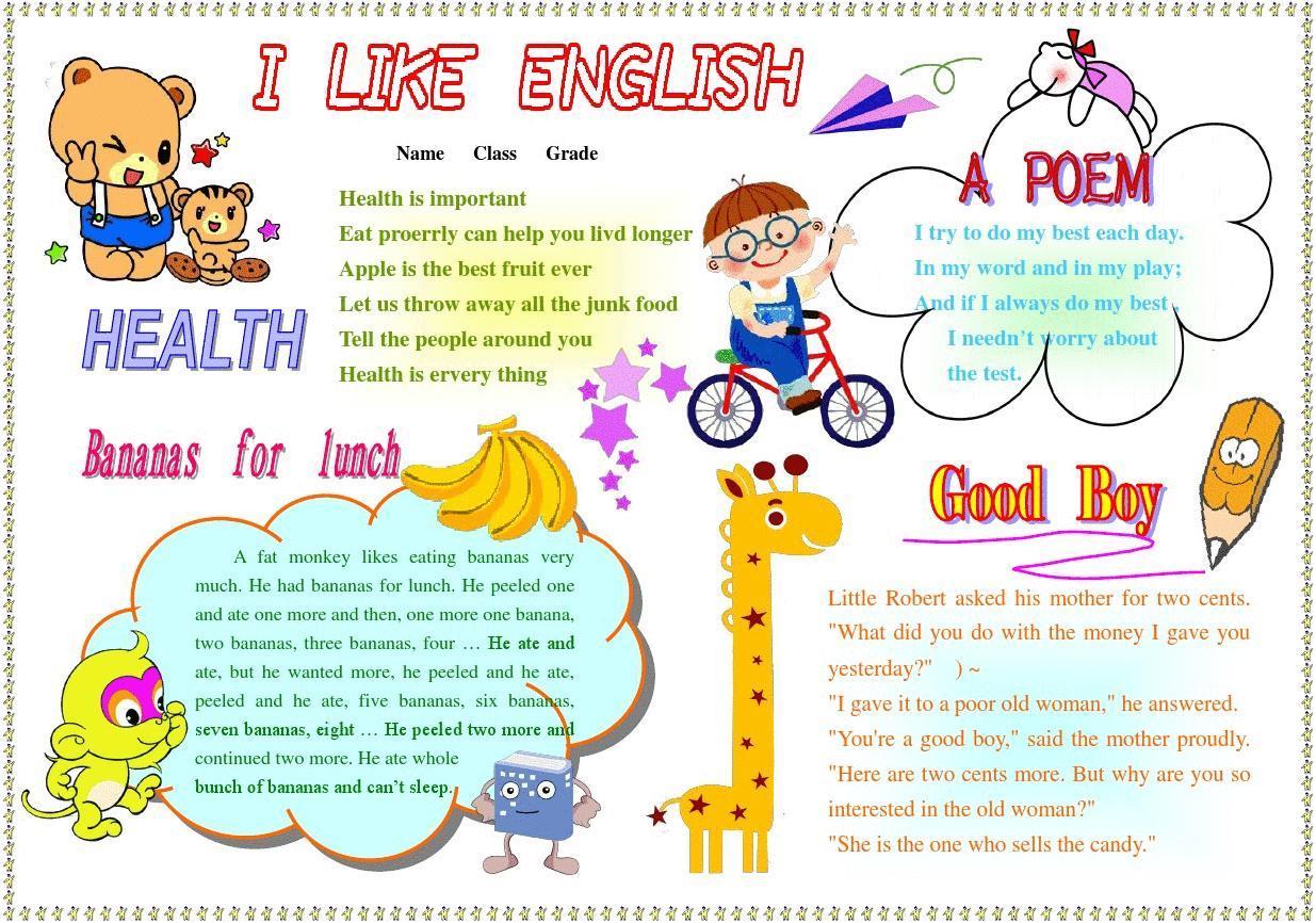外语双语手抄报模板英语角生活中的英语简报板报英语角  标题双击修改