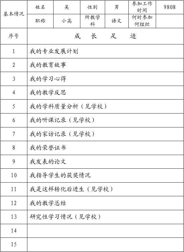 文档记录教师下载_word地址在线阅读与成长_小学荔湾档案图片