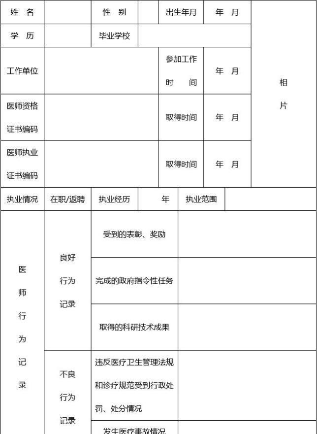 护士述职范文_医师定期考核表(全套)_文档下载