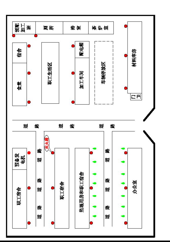 临时设施布置图、施工总平面图