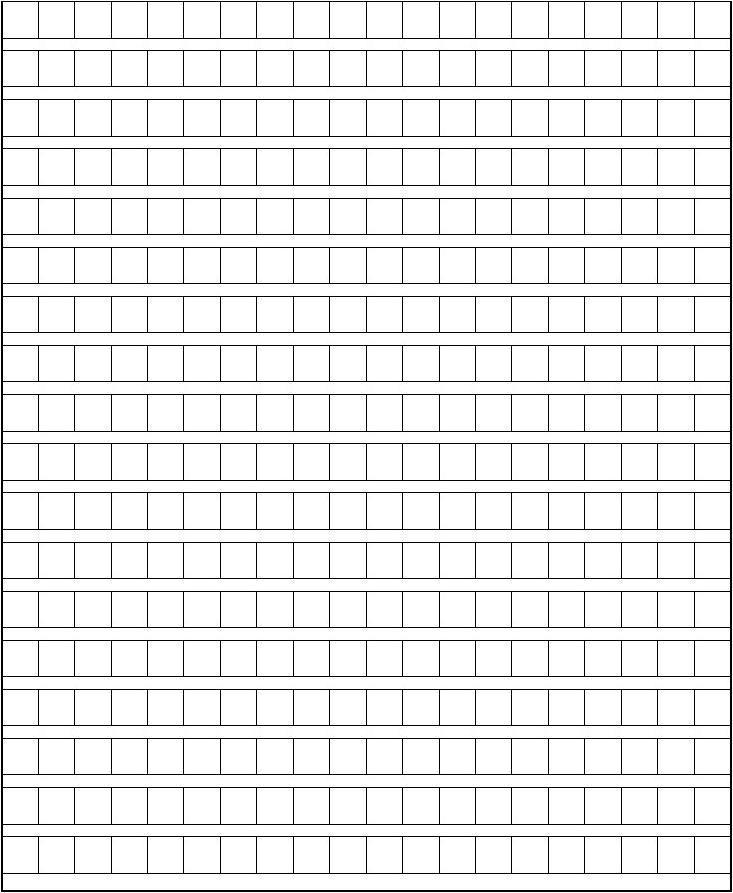 作文方格纸(变化、公务员、司法_直接打印就行高考式小学过去动词图片
