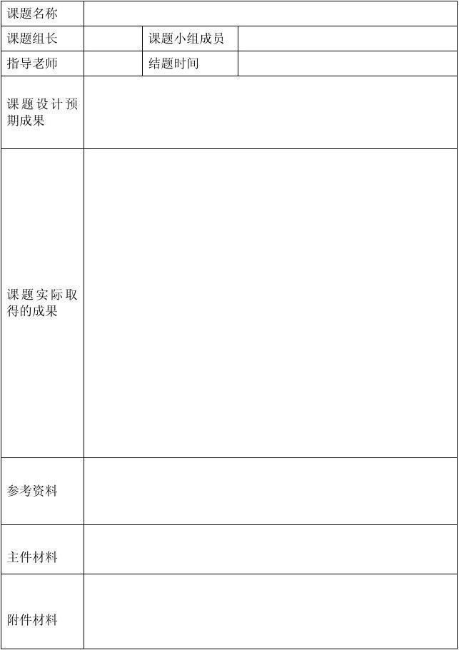 马颈坳单位研究性v单位最好填写课题(以中学报告为小组用于,主要公开我老师的课题结题课说课稿图片