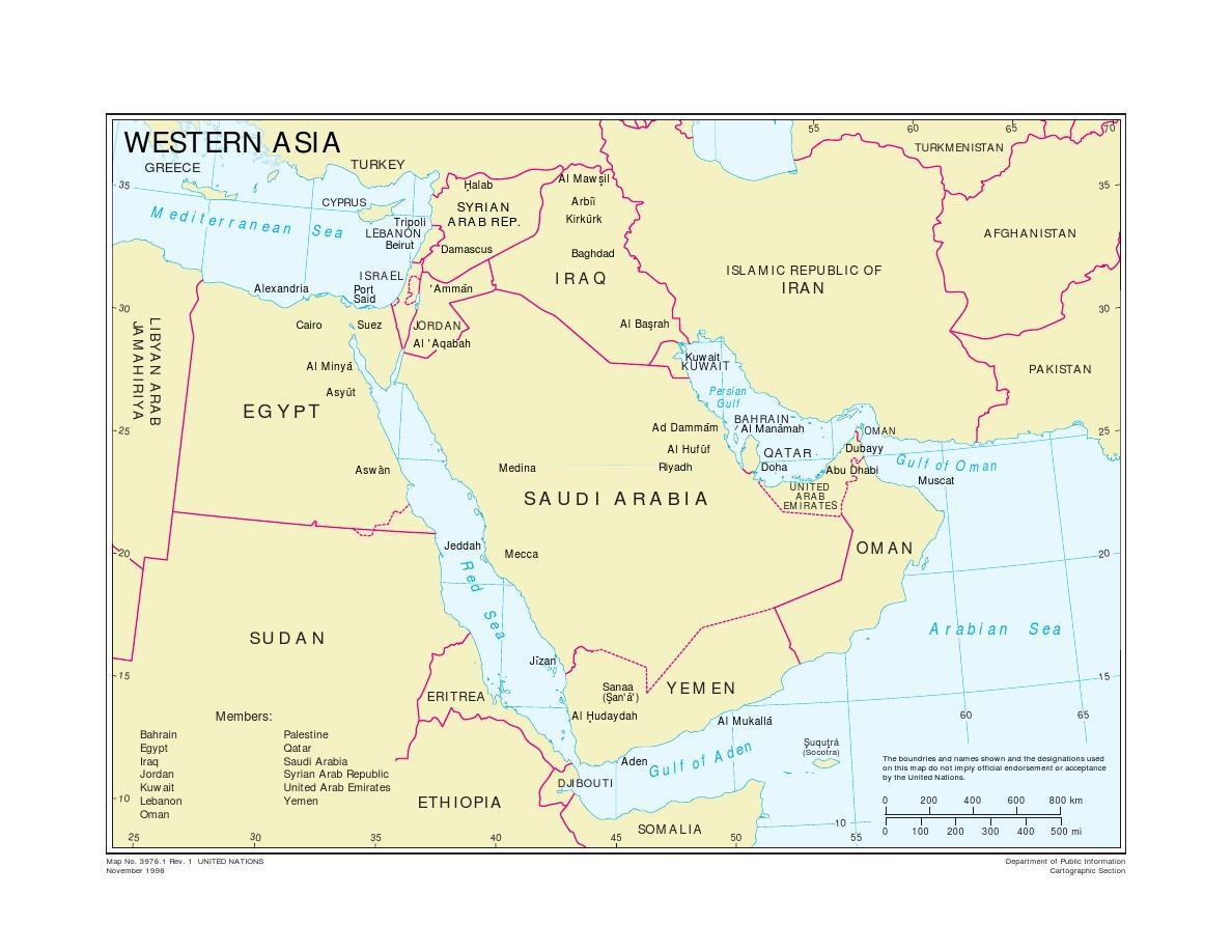 黎巴嫩在哪里_中东地图全图高清版【相关词_ 中东地图高清中文版】_捏游