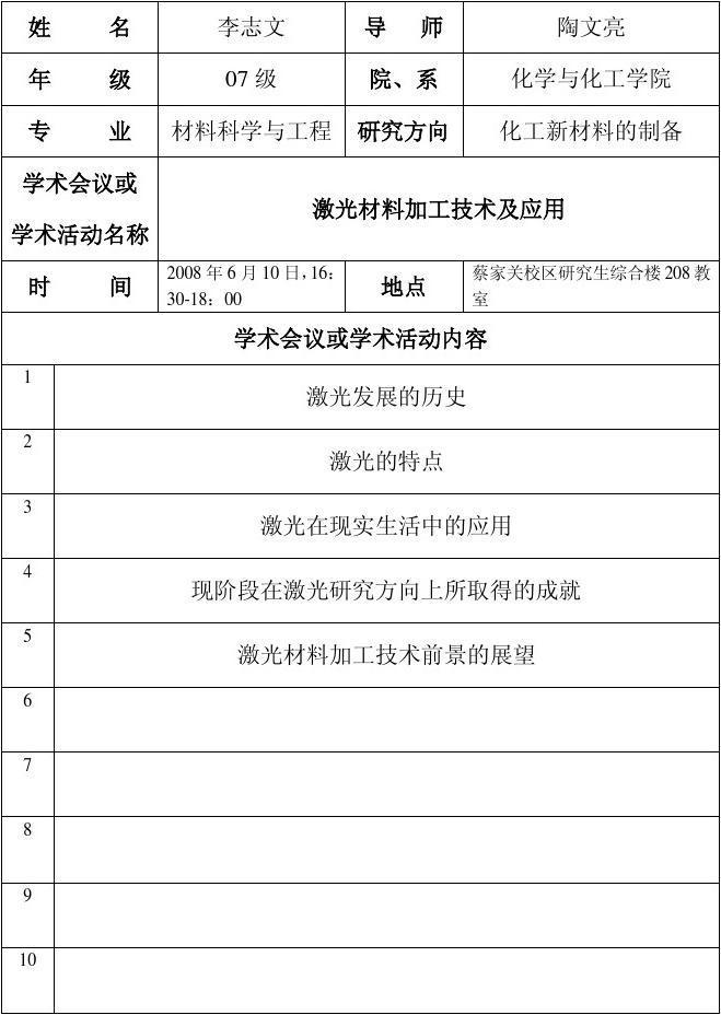 贵州大学研究生中间环节培养系列表