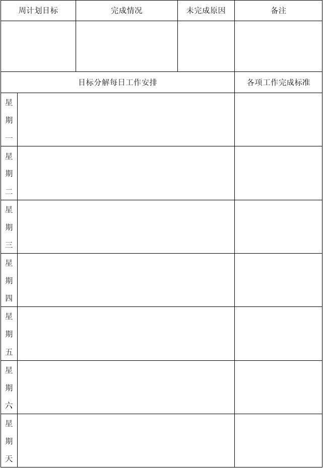 第 1 页 共 1 页 (共1页,当前第1页) 你可能喜欢 幼儿园周工作计划表图片