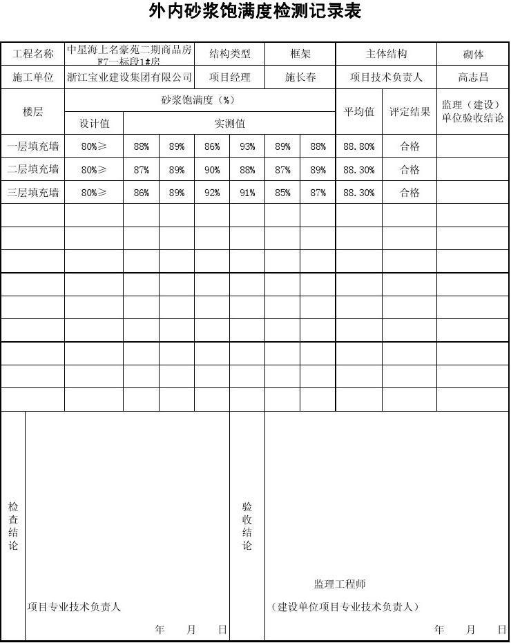 外内砂浆饱满度检测记录表