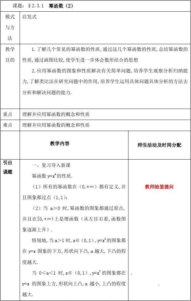 黑龙江省鸡西市高中高中2.3.1幂新人函数素材2018教案防溺水黑板报数学图片