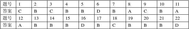 高二地理B卷参考答案