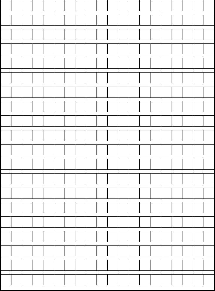 作文方格纸(a4-4页)2018年中小学生近视调查报告图片