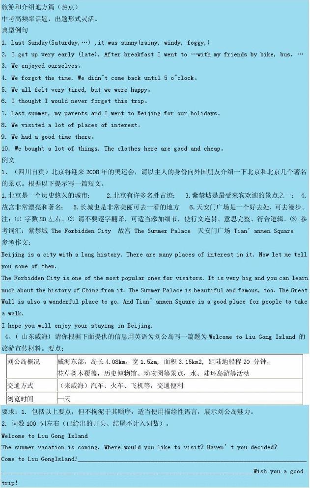 初中英语毕业考试卷预测作文v初中七李达初中范文图片